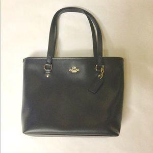 Coach Midnight Blue Tote Handbag